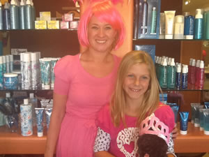 Amy And Client In Wigs
