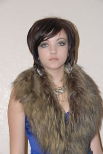 Girl With Fur 2